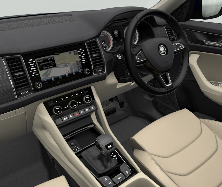 beige upholstery alcantara and leather skoda kodiaq forum. Black Bedroom Furniture Sets. Home Design Ideas